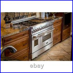 Z-line Ra48 Professional 48 Dual Fuel Range Stainless Steel